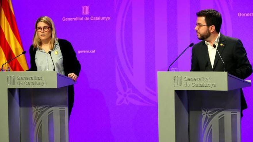 """La Generalitat acusa al Gobierno de """"romper"""" el diálogo por """"falta de coraje"""" y de ceder ante la """"ultraderecha"""""""
