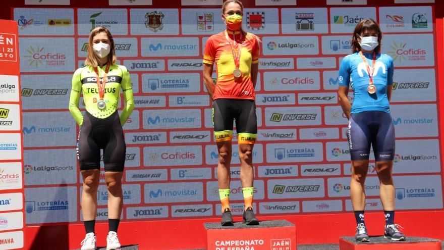 Mavi García se proclama campeona de España contrarreloj