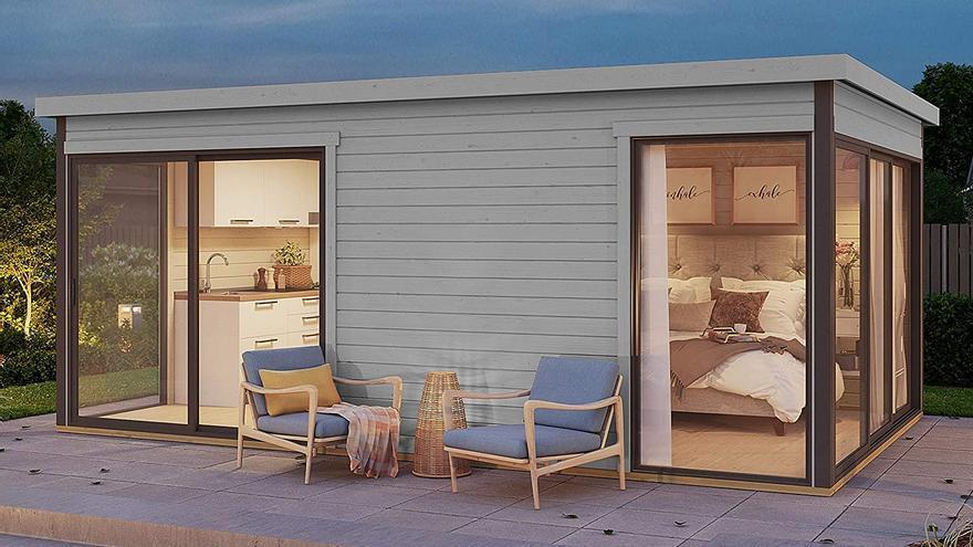 Una casa de 15 metros cuadrados por menos de 8.000 euros