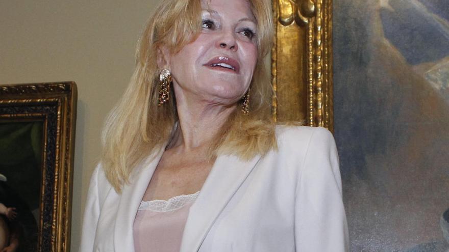 "Carmen Thyssen: ""No puedo asumir quedarme sin liquidez"""