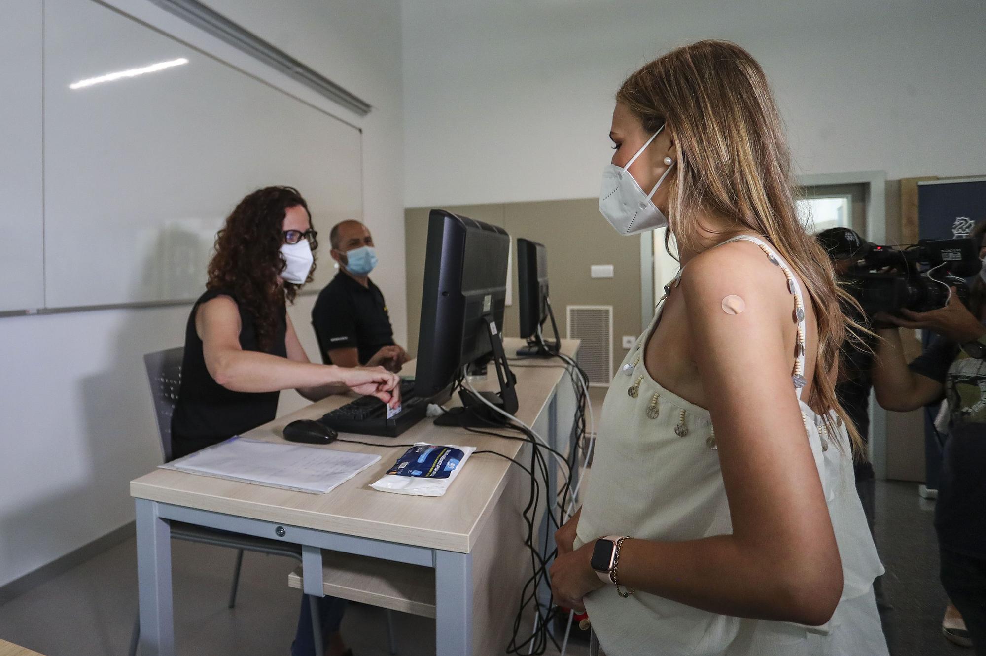 Empieza la vacunación de los valencianos que se irán de erasmus el próximo curso