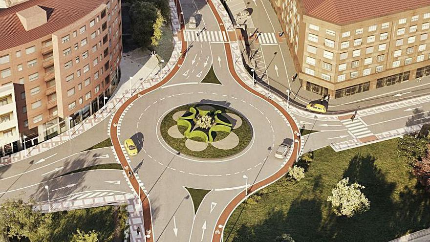 Siero impulsa la licitación del acceso a la Pola y del carril bici de Lugones