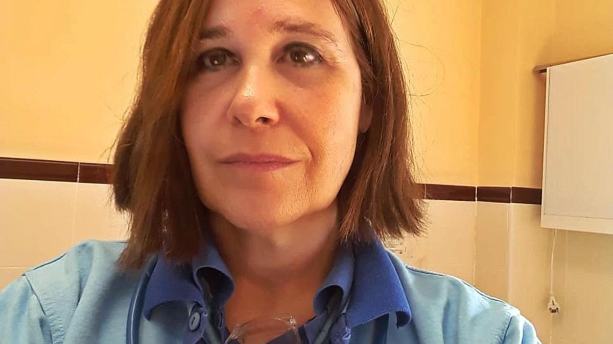 Inmaculada Delgado, médico de familia en el centro de salud de Coín.