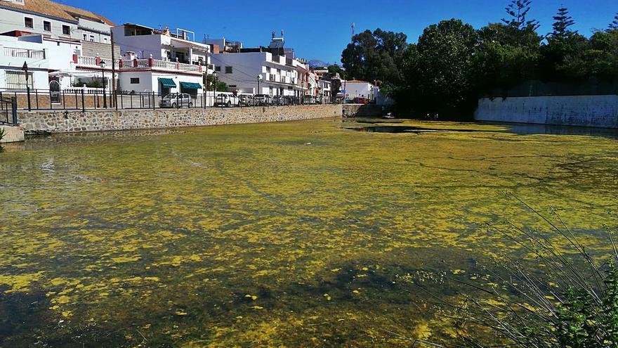 Vecinos de San Pedro se movilizan para limpiar el pantanillo de El Salto del Agua