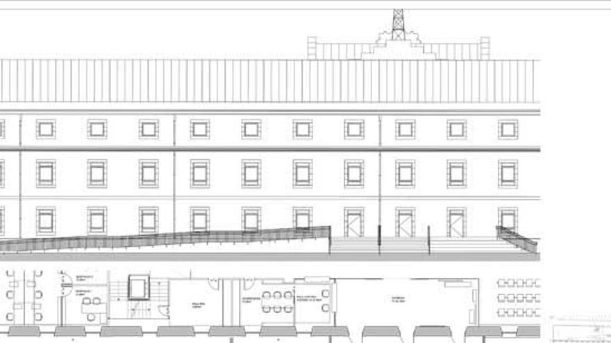 El Concello simplifica la entrada en su espacio de Tabacos para lograr permiso de Patrimonio