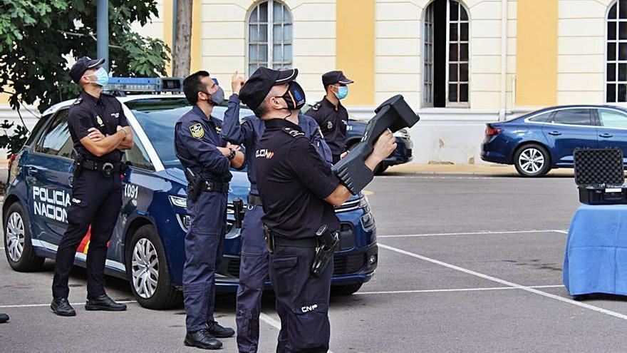 La Policía Nacional controlará el espacio aéreo con un sistema antidrones