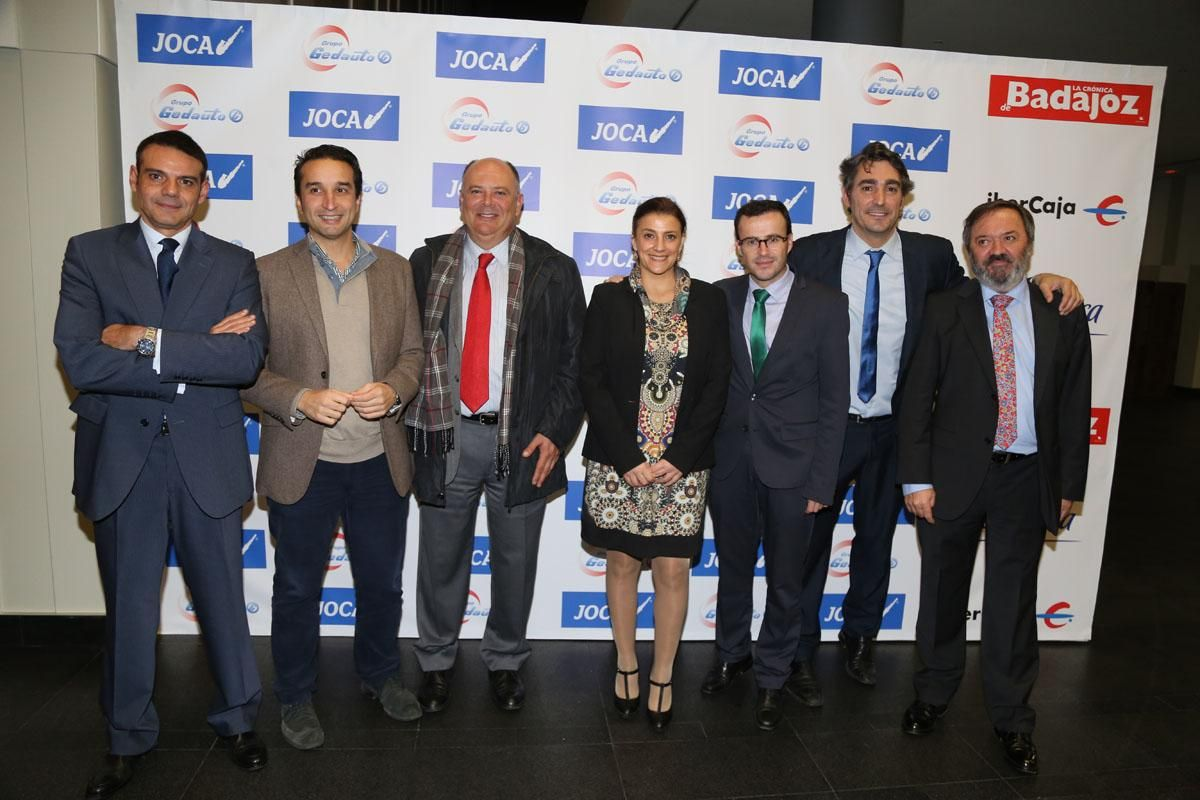 La gala de la VI edición de los Premios Empresario de Badajoz en imágenes
