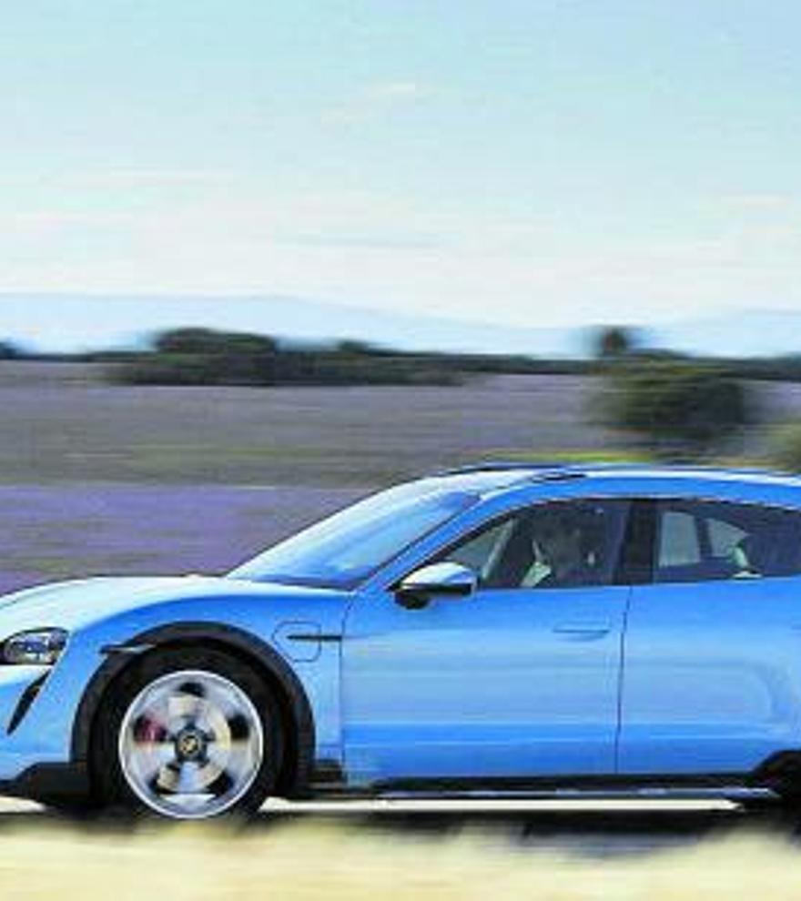 Porsche Taycan Cross Turismo: el misil eléctrico se hace más versátil