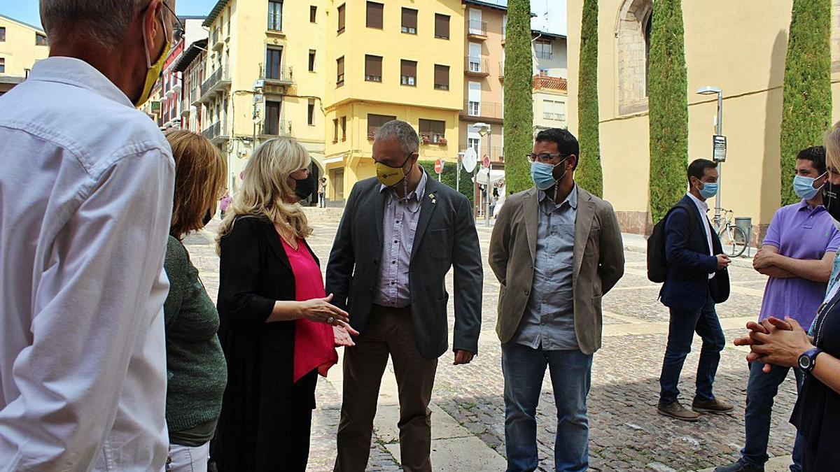 La visita de la consellera de Drets Socials a l'Ajuntament de la Seu d'Urgell | AJ SEU