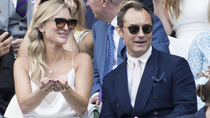 Jude Law espera su sexto hijo con 47 años