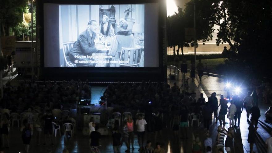 'Ninotchka' abre la muestra de cine clásico del Festival de Málaga en Alcazabilla