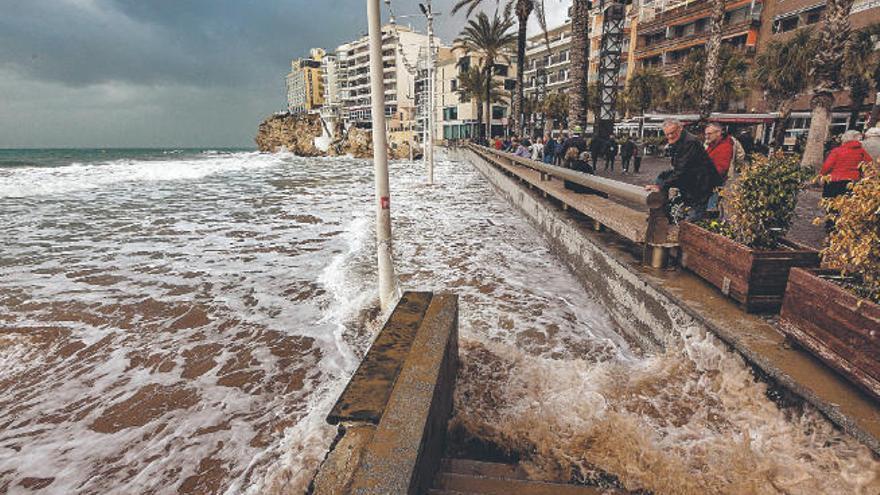 La subida del nivel del mar amenaza las playas urbanas en apenas 30 años
