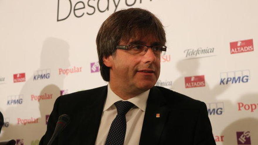 Puigdemont, disposat a incloure la proposta del govern espanyol a la pregunta del referèndum