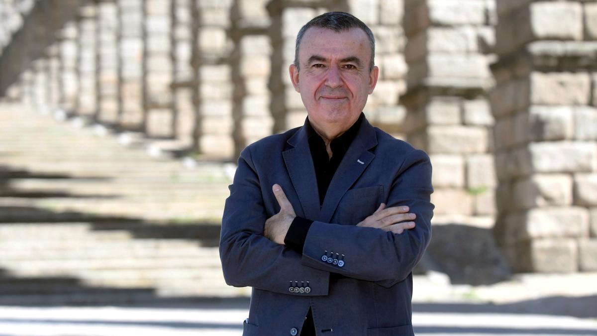 El escritor Lorenzo Silva