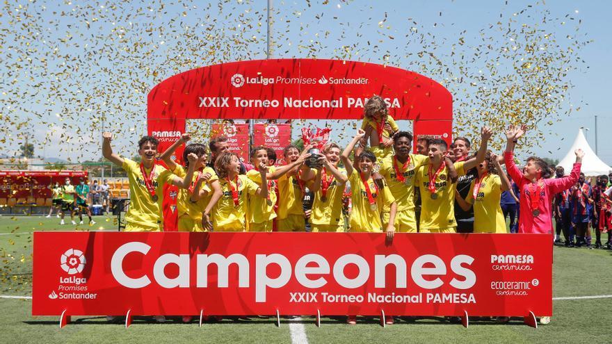El Villarreal levanta su tercer título de LaLiga Promises tras ganar al Sevilla en una gran final (2-0)