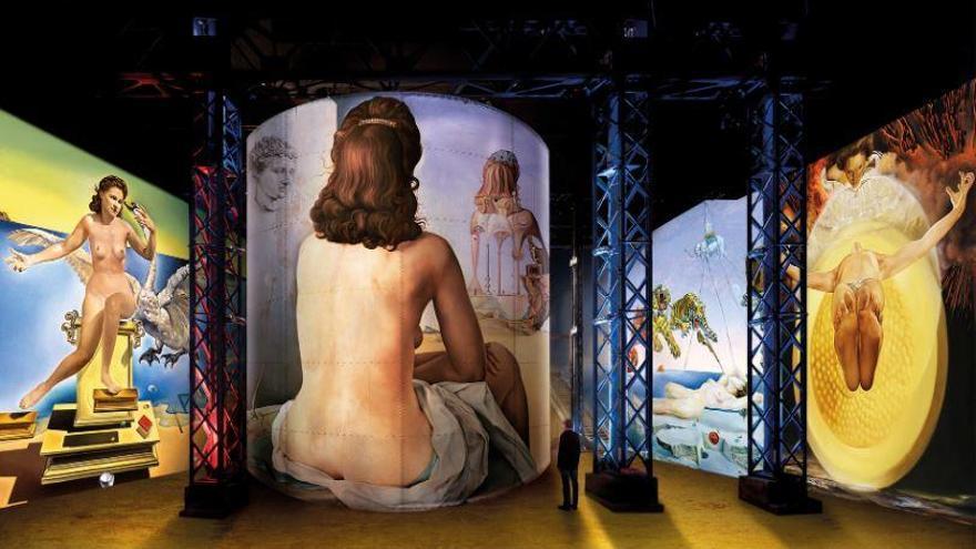 L'exposició immersiva «Dalí, l'enigma sense fi» es podrà veure a París