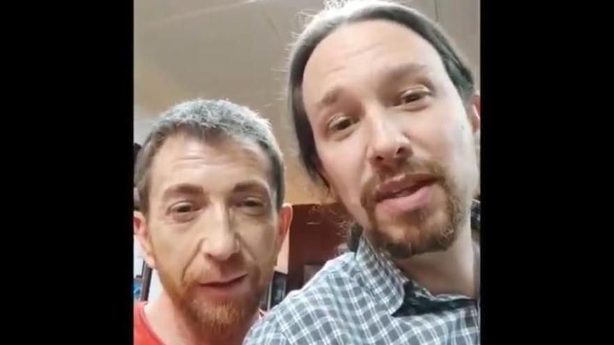 El mensaje de Pablo Iglesias y Pablo Motos a los estudiantes de Medicina de Santiago