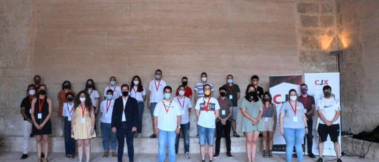 Fotografia de grup dels participants en la cita | LEVANTE-EMV
