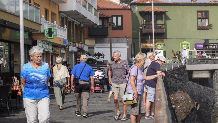 El turismo internacional cae un 45,5% en Canarias hasta agosto