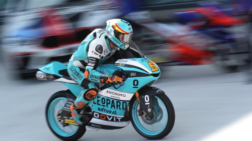 Jaume Masiá se impone en Moto3 en Aragón