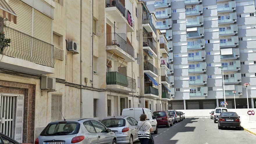 Pimesa prevé derribar en 2022 cuatro edificios de San Antón donde aún viven cien familias
