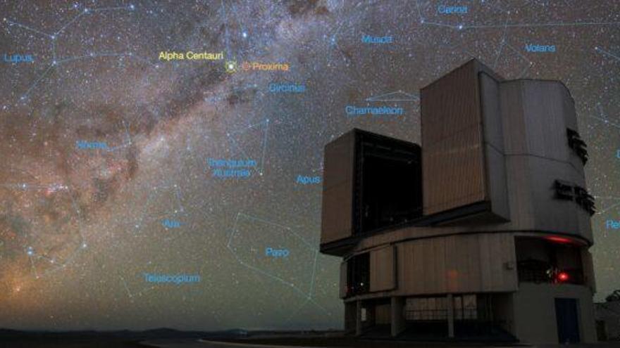 Una fuente de luz detectada a 4.37 años luz podría albergar vida