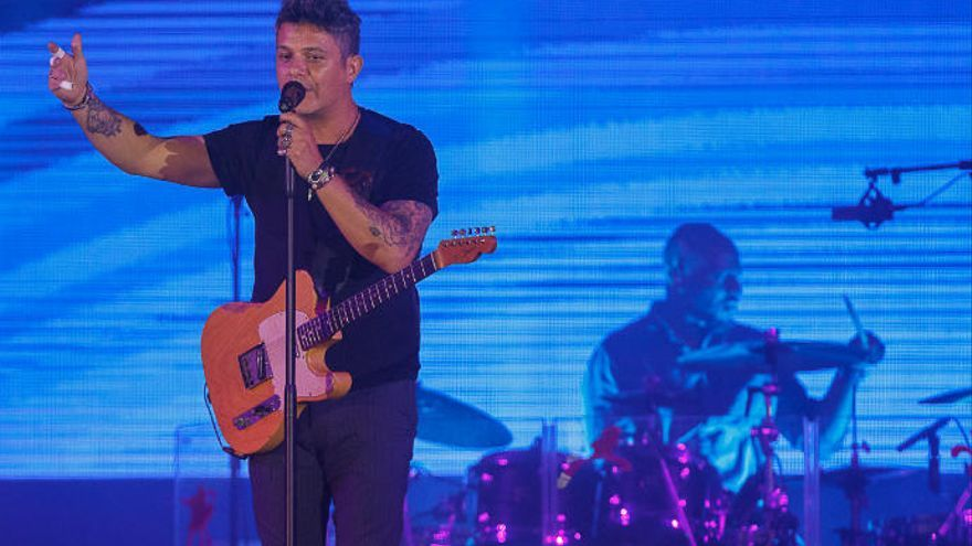 Alejandro Sanz, cabeza de cartel de la quinta edición del 'Isla BonitaLove Festival'