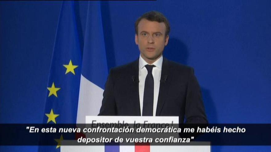 Francia elige a Macron y da la espalda a la ultraderecha