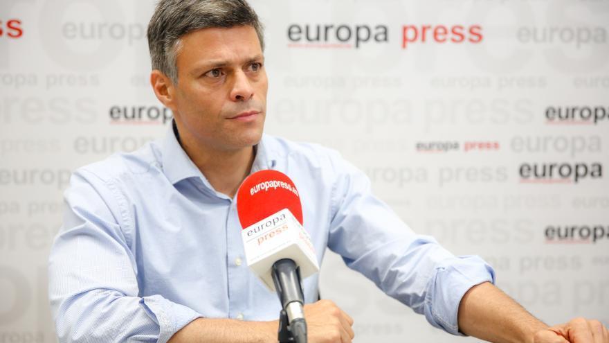 Leopoldo López reclama a España y a la UE más apoyo contra Maduro