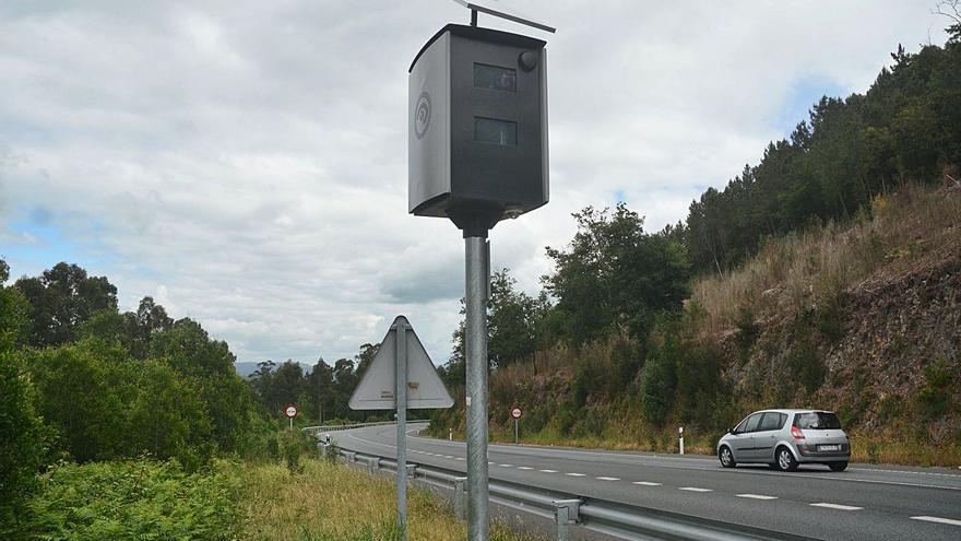 Los radares de Tráfico en doce carreteras de la comarca