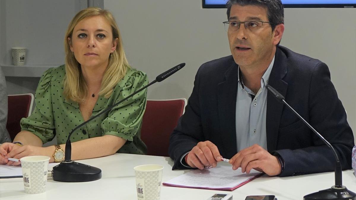 Jorge Rodríguez y Natàlia Enguix, en una imagen de archivo