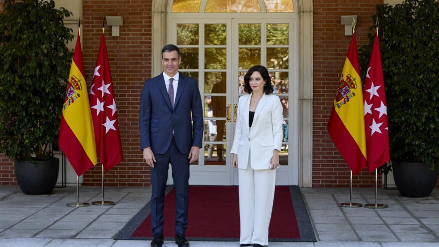 """Ayuso advierte de que """"lo que está pasando"""" en Cataluña pasará en Baleares"""
