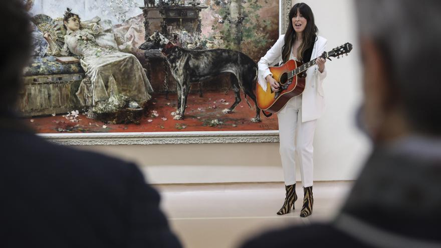 Marisa Valle Roso pone música al Museo de Bellas Artes de Asturias
