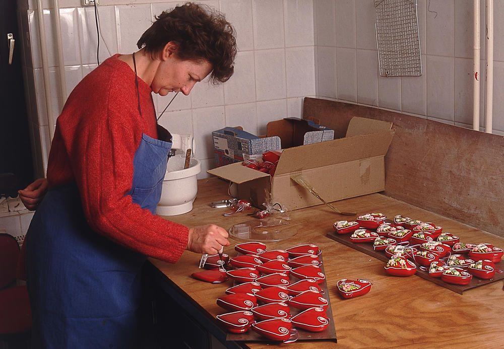 Croacia - La elaboración del pan de especias en el norte de Croacia.