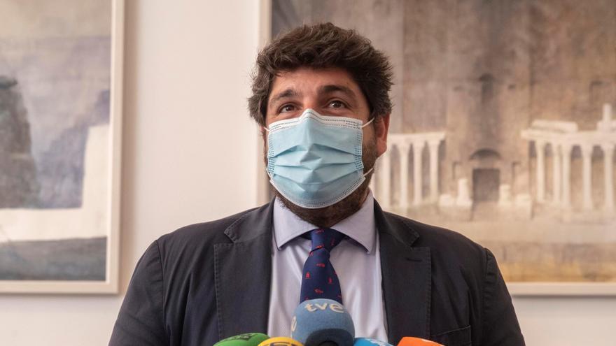 """López Miras asegura que en su """"pensamiento no está eternizarse en el cargo"""""""