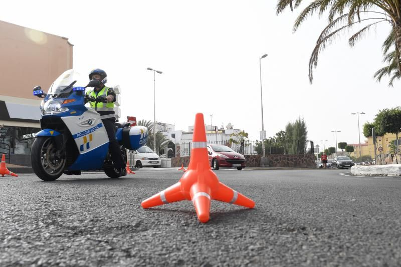 Control policial de los GOIA caninos en San Bartolomé