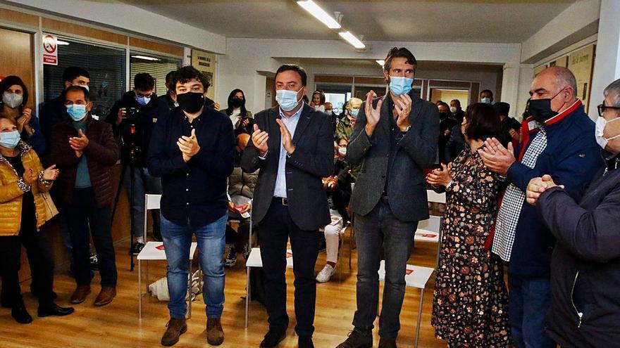 "González Formoso en Vilagarcía: ""Galicia demanda un PSdeG fuerte como alternativa clara de gobierno"""