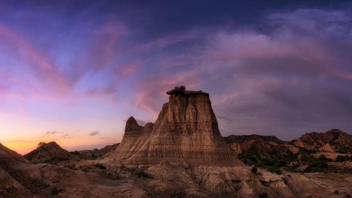El desierto de los Monegros.