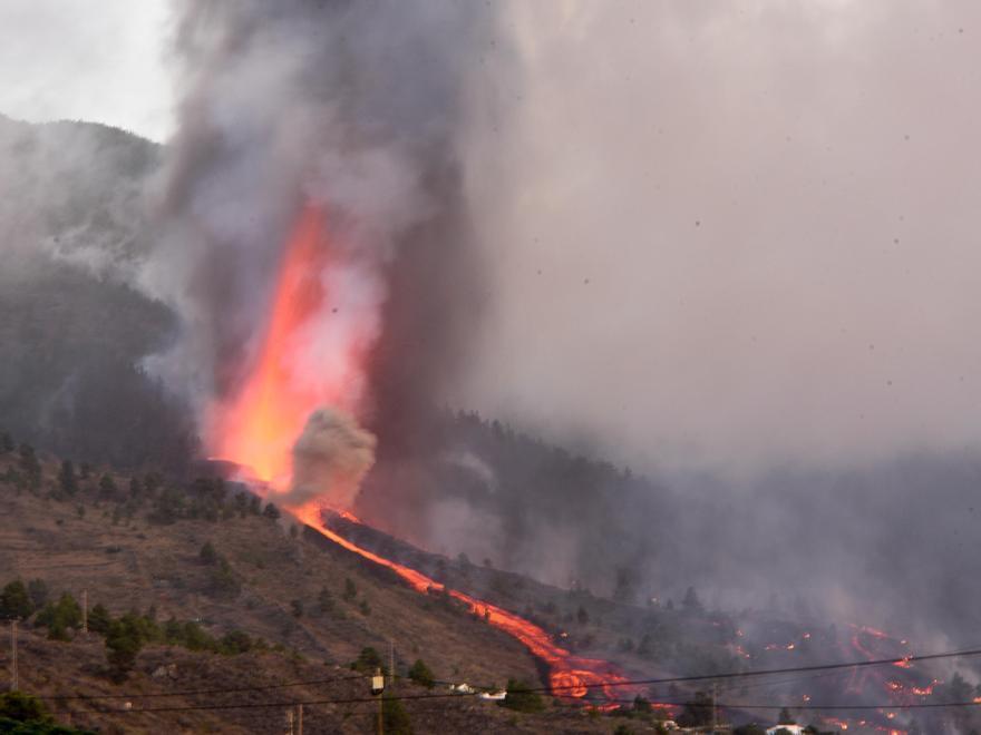 L'erupció del volcà  'Cumbre Vieja'  de l'illa de La Palma