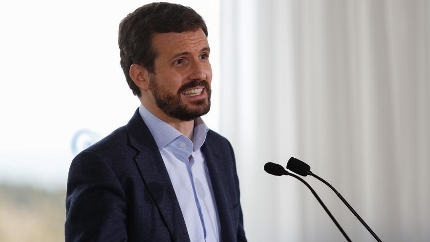 """Casado: """"El Gobierno mintió al Parlamento sobre el decreto de fondos europeos"""""""