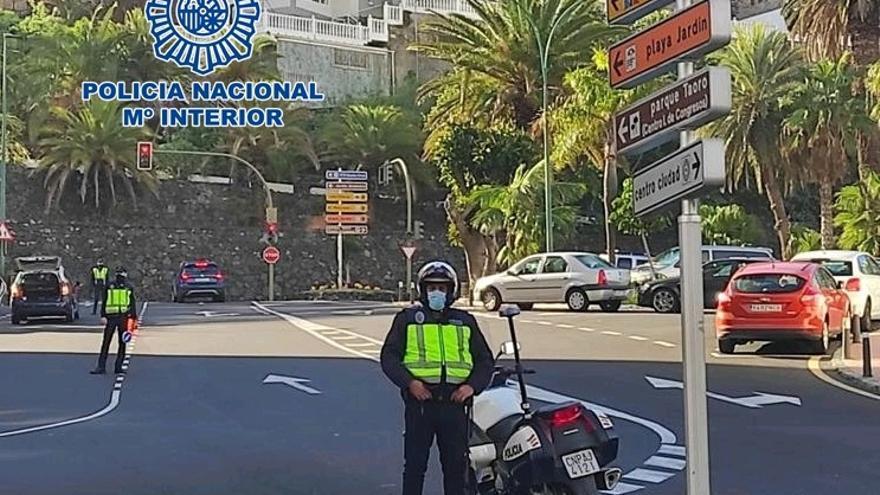 Detenido por robar 200 euros a un anciano en Puerto de la Cruz