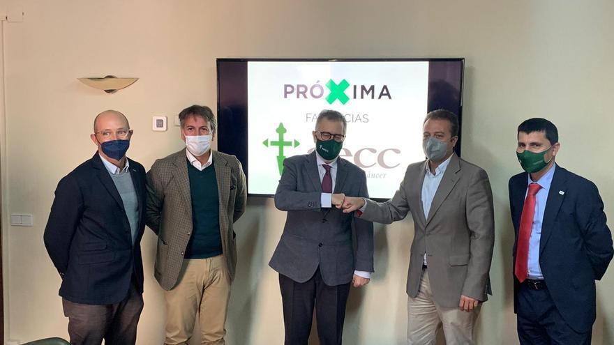 La AECCA de Málaga y Próxima Farmacias firman un acuerdo de colaboración para la prevención del cáncer