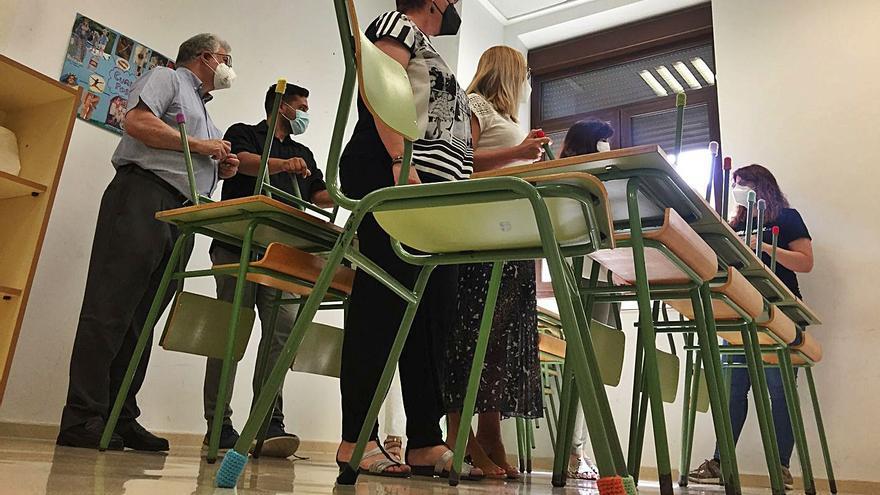 Botas de lana en las sillas para mejorar la inclusión en las aulas