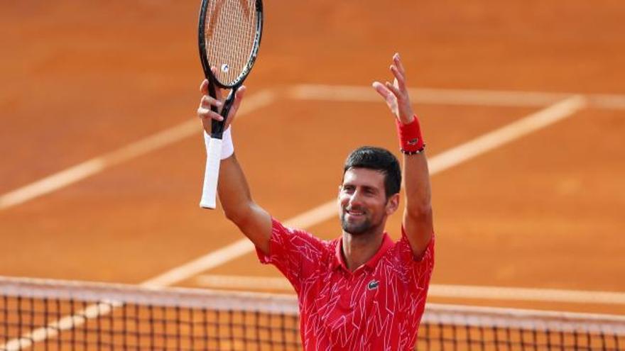 Novak Djokovic da positivo en el test del coronavirus