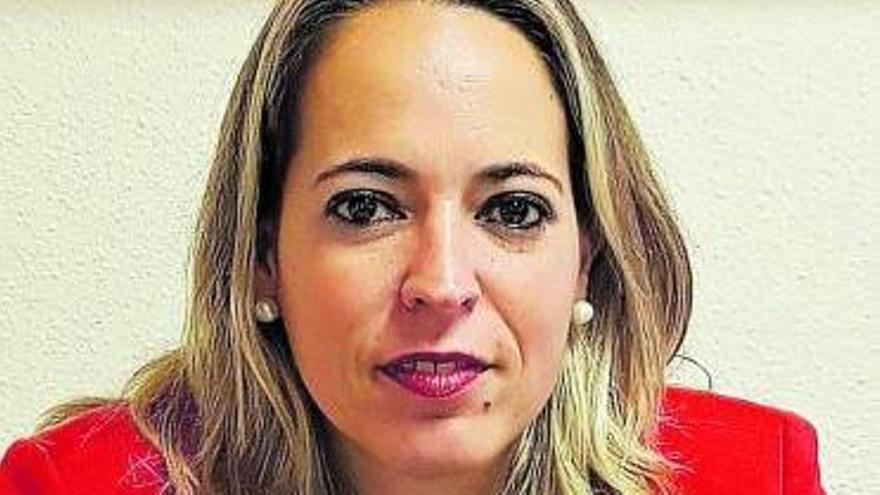 La consejera de Sanidad del Cabildo de La Palma, Susana Machín, del PSOE.