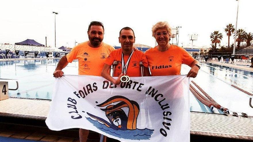 Tajuelo roza la mínima paralímpica B de 200 libres en Tenerife