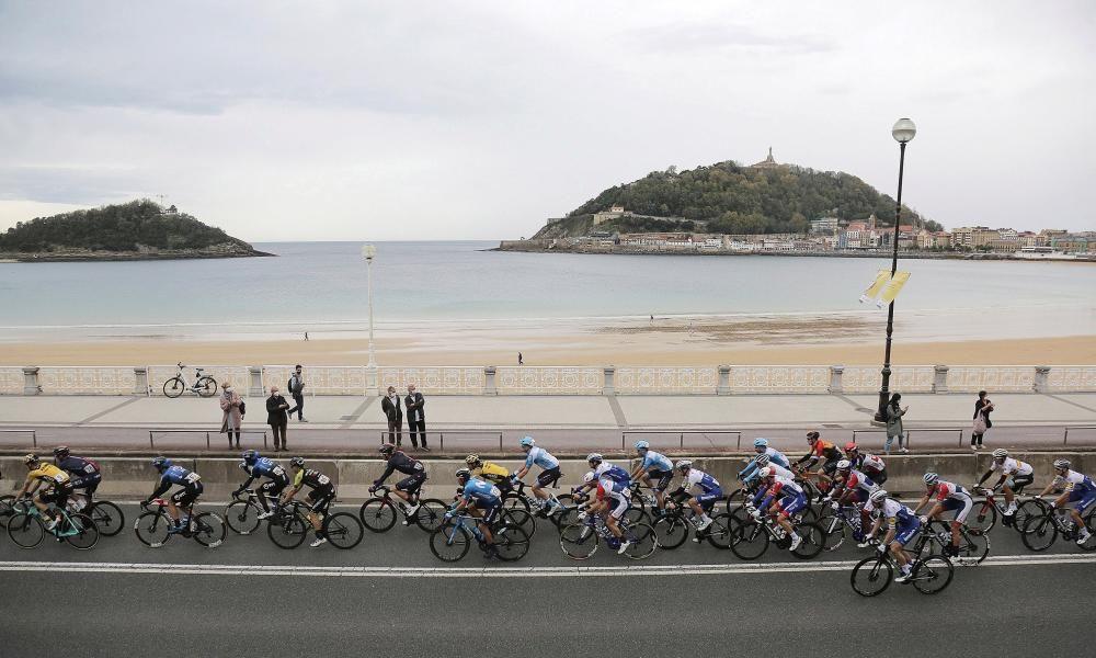Las imágenes de la 1ª etapa de la Vuelta a España.