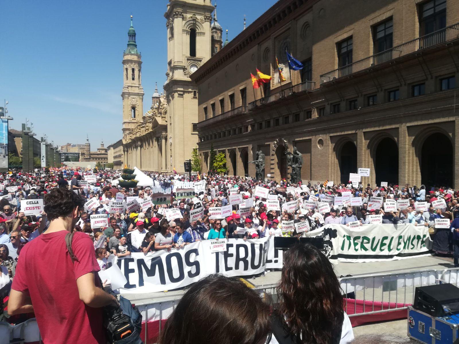 La trayectoria de Teruel Existe en imágenes