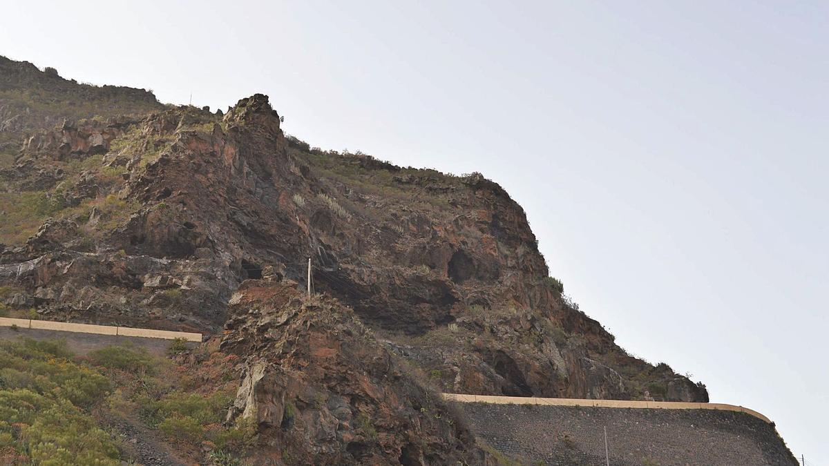 Zona de La Vetita, junto a la carretera TF-82 por Tamaimo.