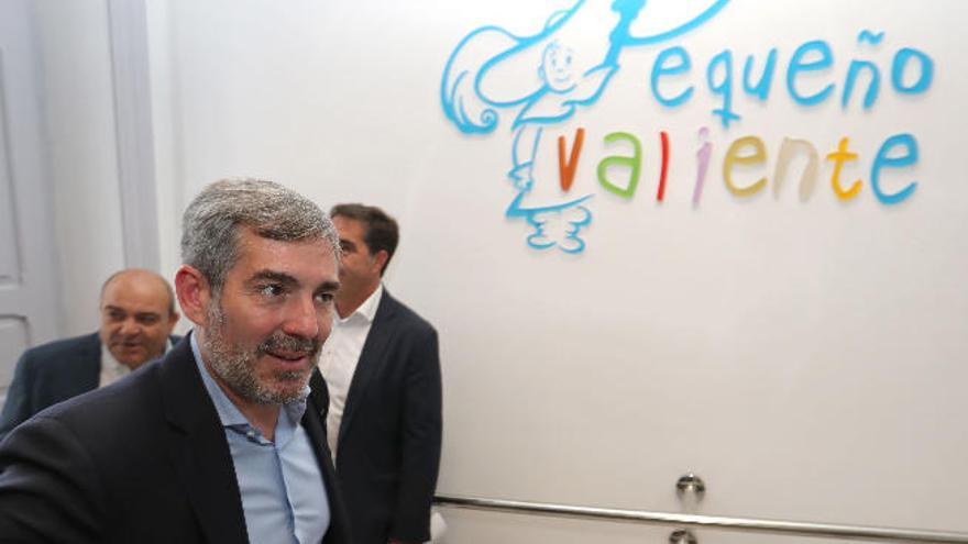 Clavijo promete la continuidad de los proyectos de Pequeño Valiente